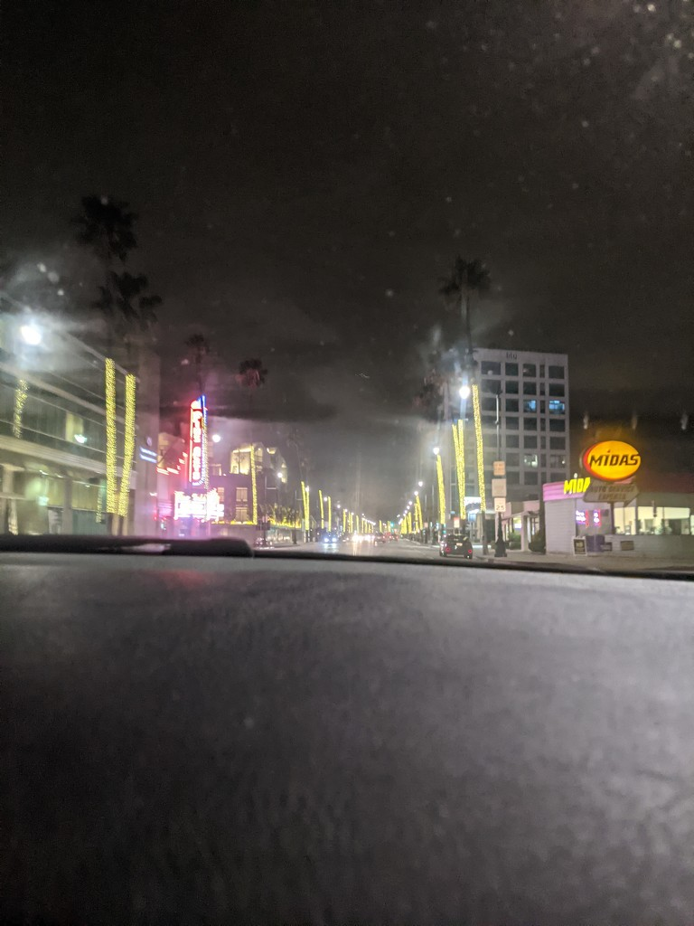 Driving down Wilshire by bambilee