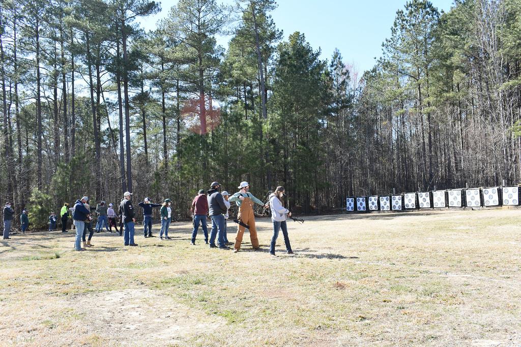 Archery Practice by homeschoolmom