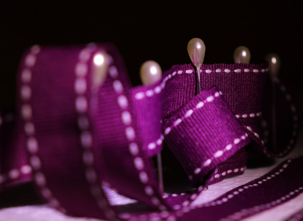 Pearls in purple by elza