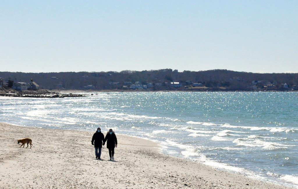 A romantic beach stroll........... by sailingmusic