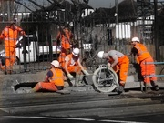 9th Mar 2021 - A Day-Glo of Workmen