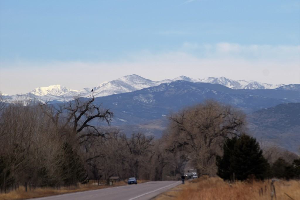 Rocky Mountains from Windsor CO by sandlily