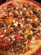 10th Mar 2021 - Delicious Vegan pizza