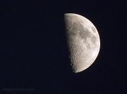 13th Jan 2011 - First Quarter Moon