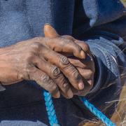 25th Feb 2021 - Joe's hands...