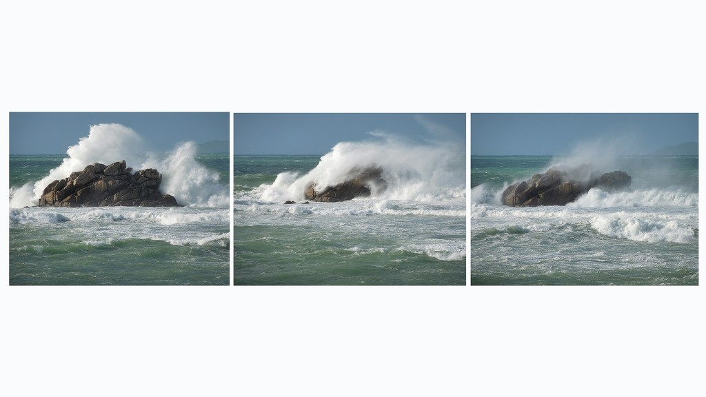 The wave - before and after by etienne