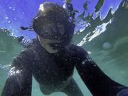 15th Mar 2021 - Underwater selfie