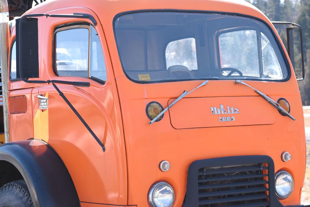 Orange Truck by bjywamer