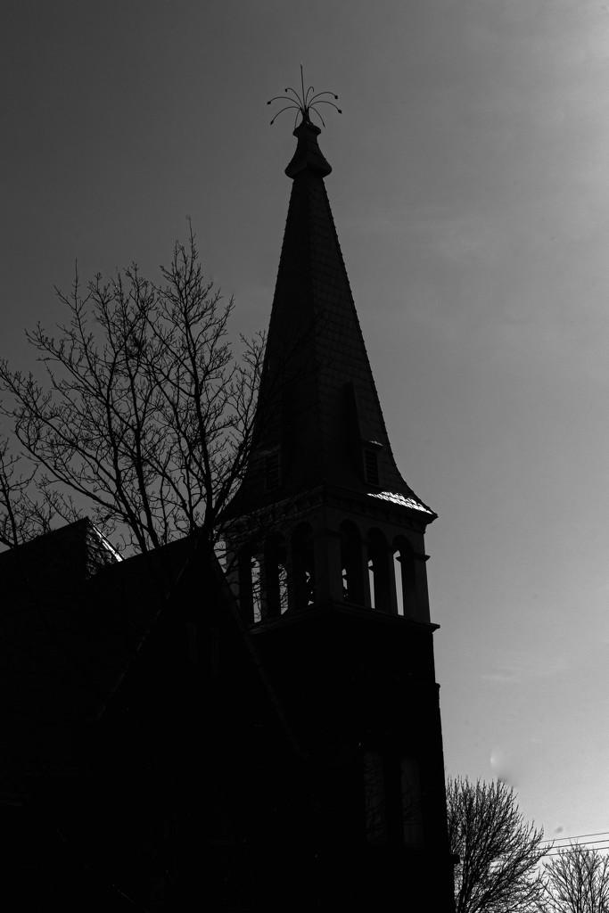 Church on the Hill by farmreporter