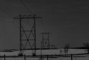 17th Mar 2021 - Power Line Silhouette