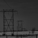 Power Line Silhouette by farmreporter