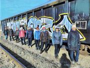 18th Mar 2021 - Train Graffiti