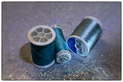 19th Mar 2021 - Threads of Teal