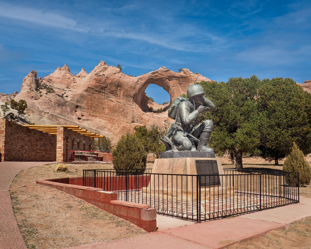Navajo Code Talker by rosiekerr
