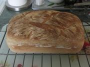 20th Mar 2021 - My husband's white crusty loaf.