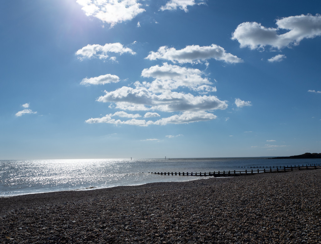 Littlehampton beach by josiegilbert