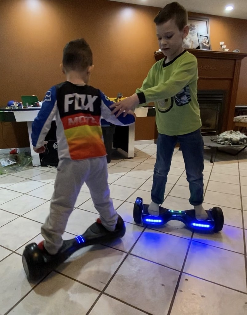 Hoverboard fun by radiogirl