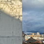21st Mar 2021 - Half concrete / half dark sky.