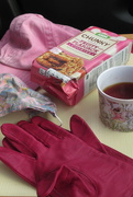 21st Mar 2021 - pink tea out