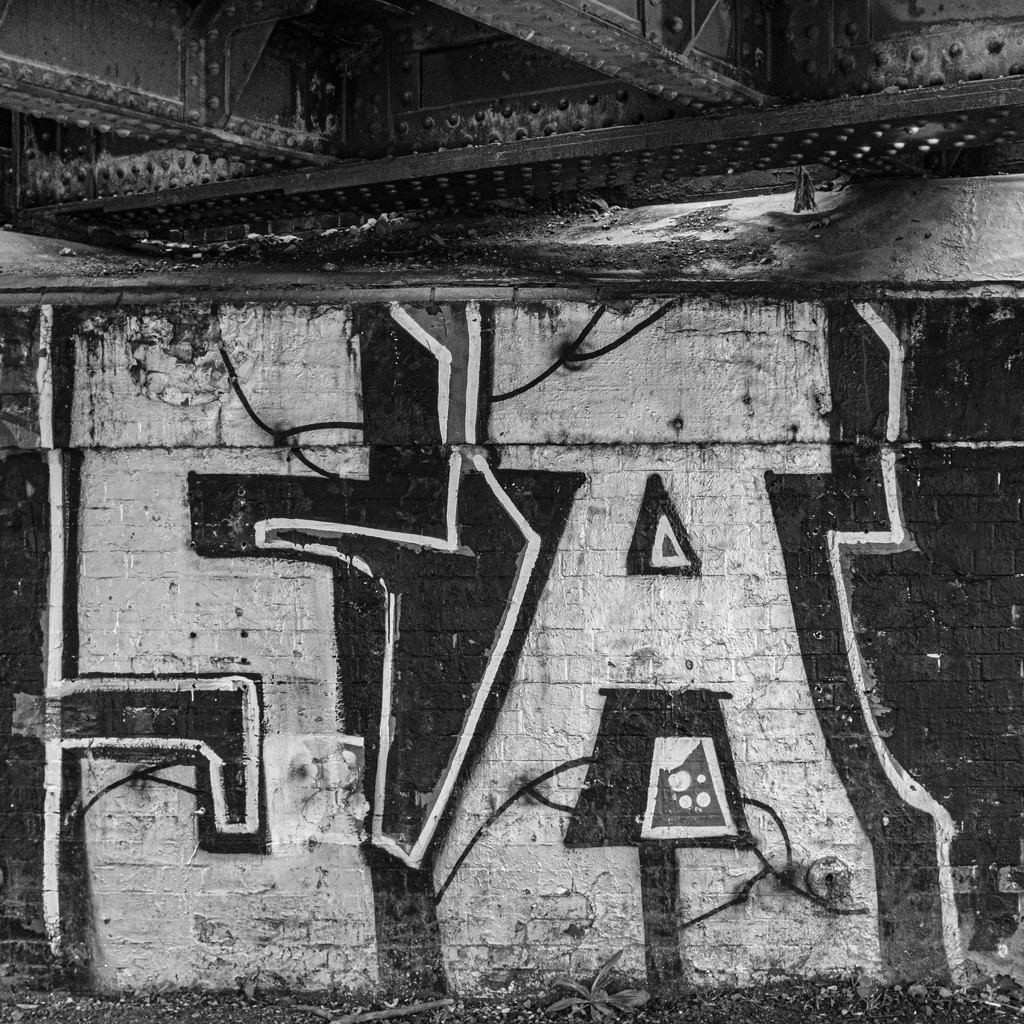 Bridge Graffiti by gbeauchamp