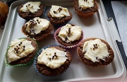 22nd Mar 2021 - Carrot cake muffins