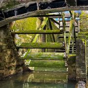 20th Mar 2021 - Brampton Mill Wheel