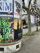 23rd Mar 2021 - Half posters / half street.