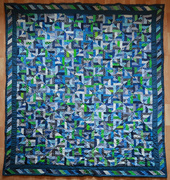 26th Mar 2021 - Finished quilt (March 2019)