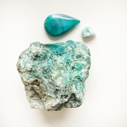 26th Mar 2021 - Blue green stones