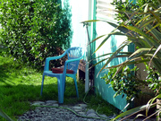 26th Mar 2021 - another blue chair