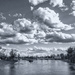 Clouds over the river by ivophoto