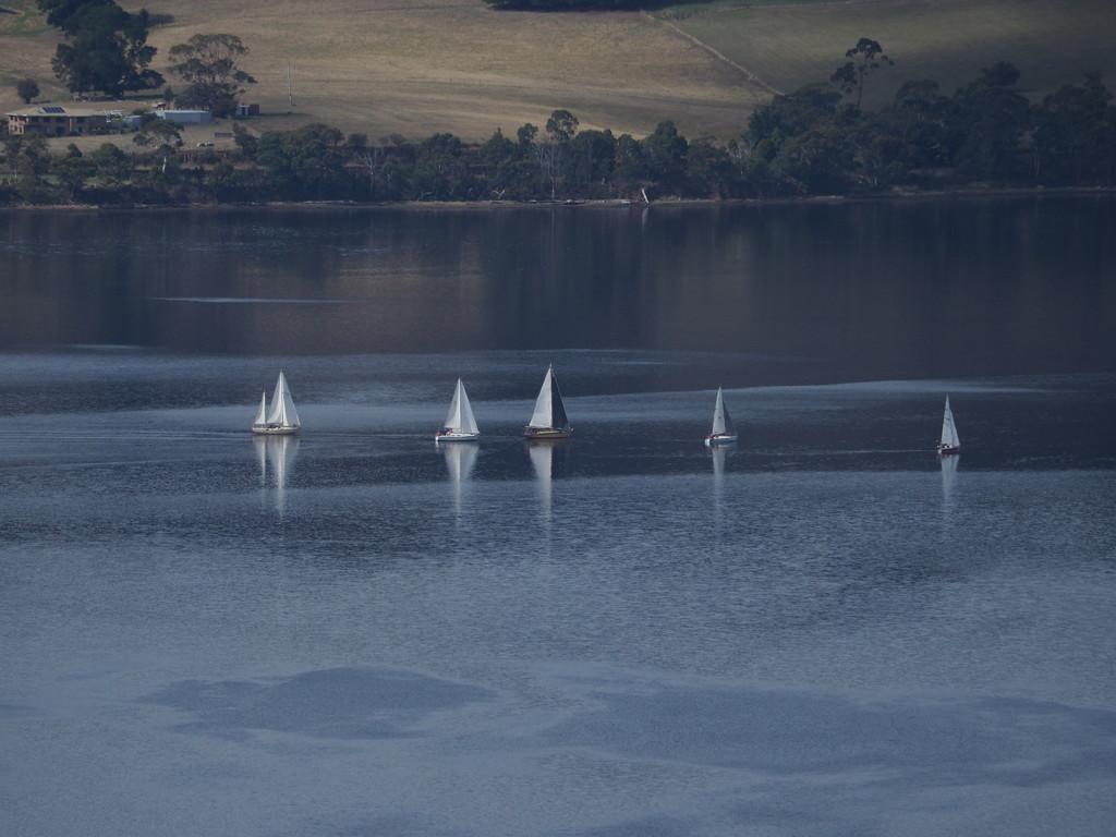 Sailing by katford