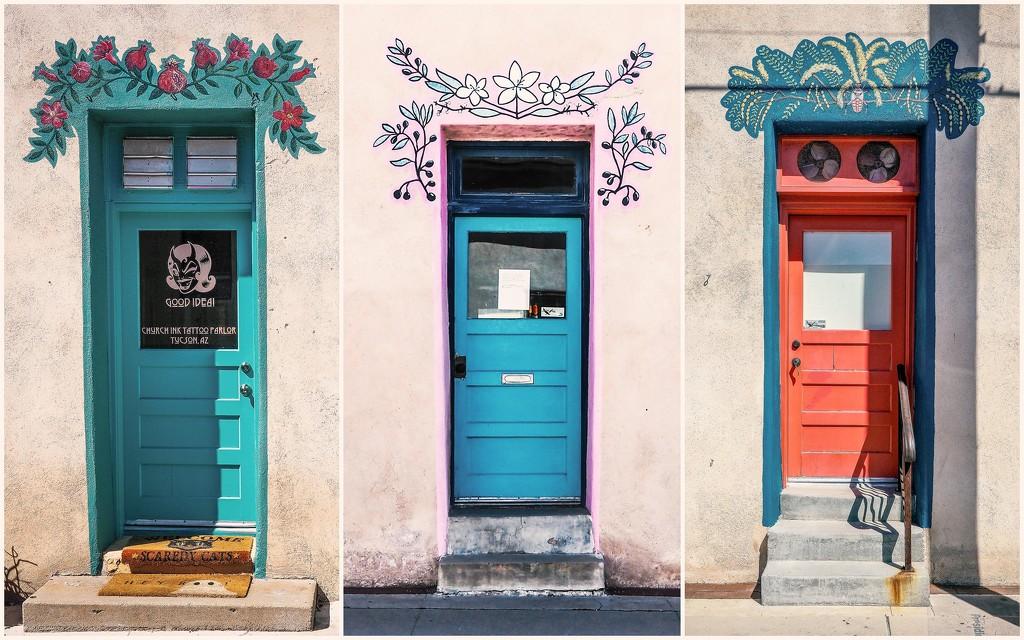 Tuscon Doors by rosiekerr