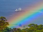 29th Mar 2021 - Sunshine, rain, rainbow