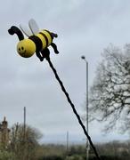 31st Mar 2021 - Yellow #3 - Bee antenna topper