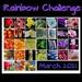 Rainbow Challenge 2021 Calendar