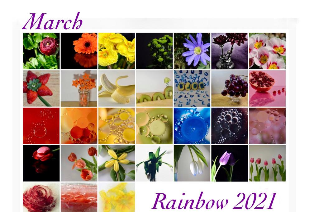 Rainbow 2021 Calendar  by wakelys