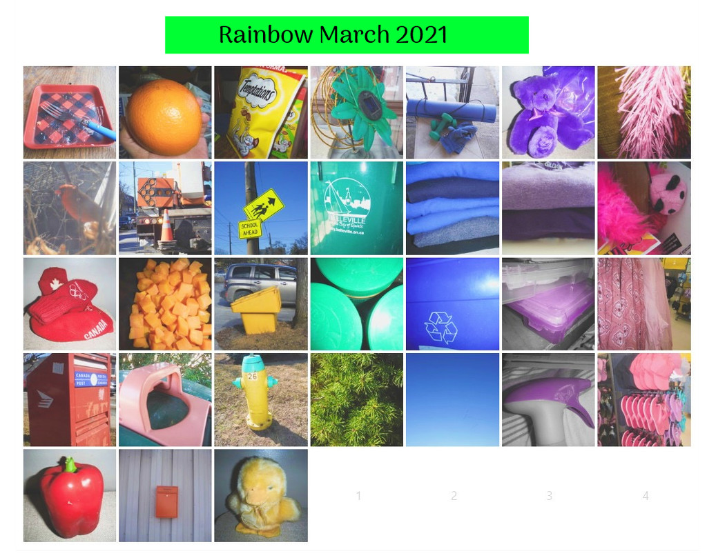 Rainbow March by spanishliz