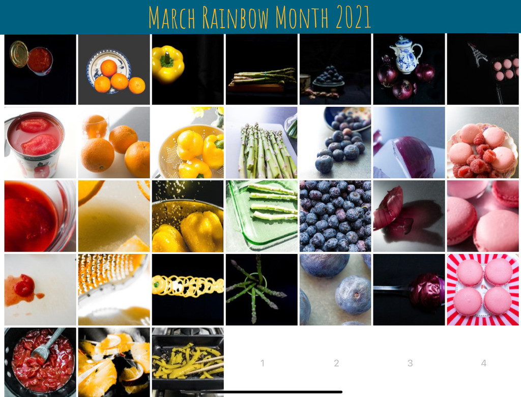 March Rainbow Month 2021 by cristinaledesma33