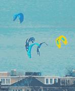 31st Mar 2021 - Kite Surfing