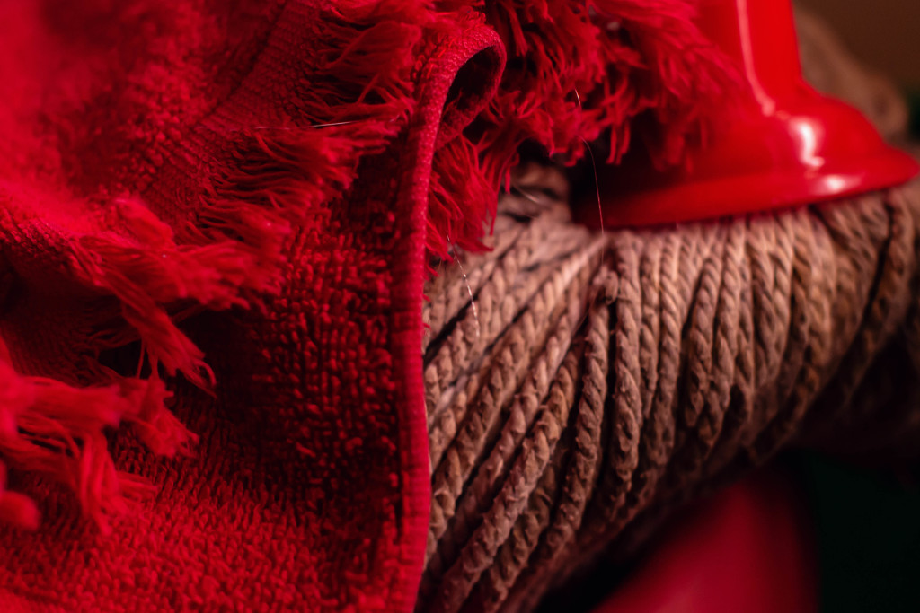 March Words - Red Rag by farmreporter