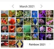 1st Apr 2021 - My first calendar