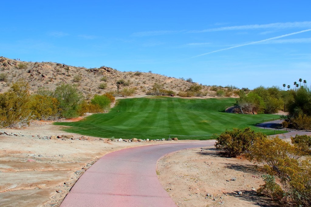 gotta have a golf course in the middle of the desert.... by blueberry1222