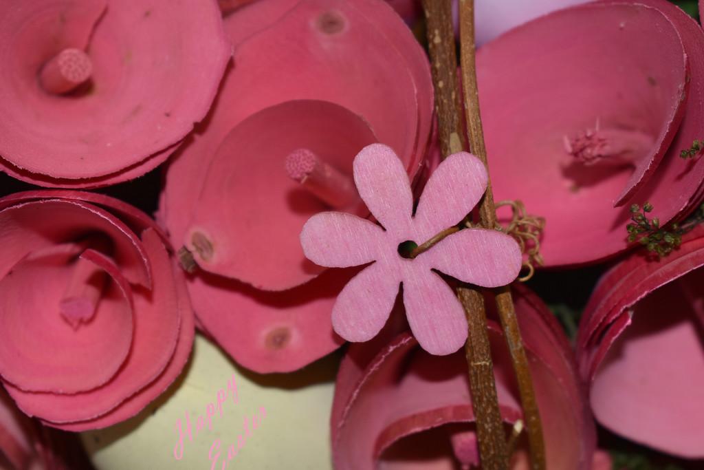 PINK Wreath by homeschoolmom