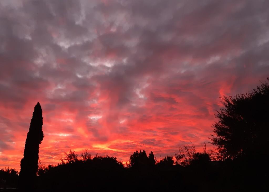 Sky fire by salza