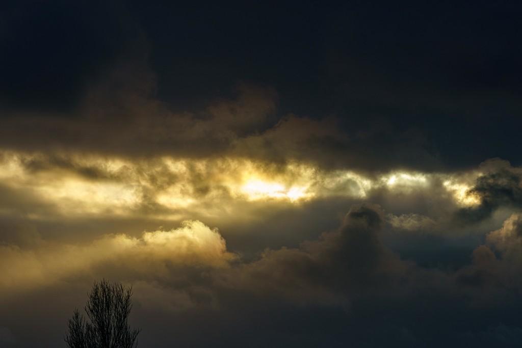 Cloud break  by padlock