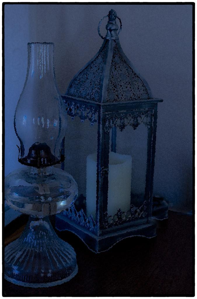 Blue tone lights by joysabin