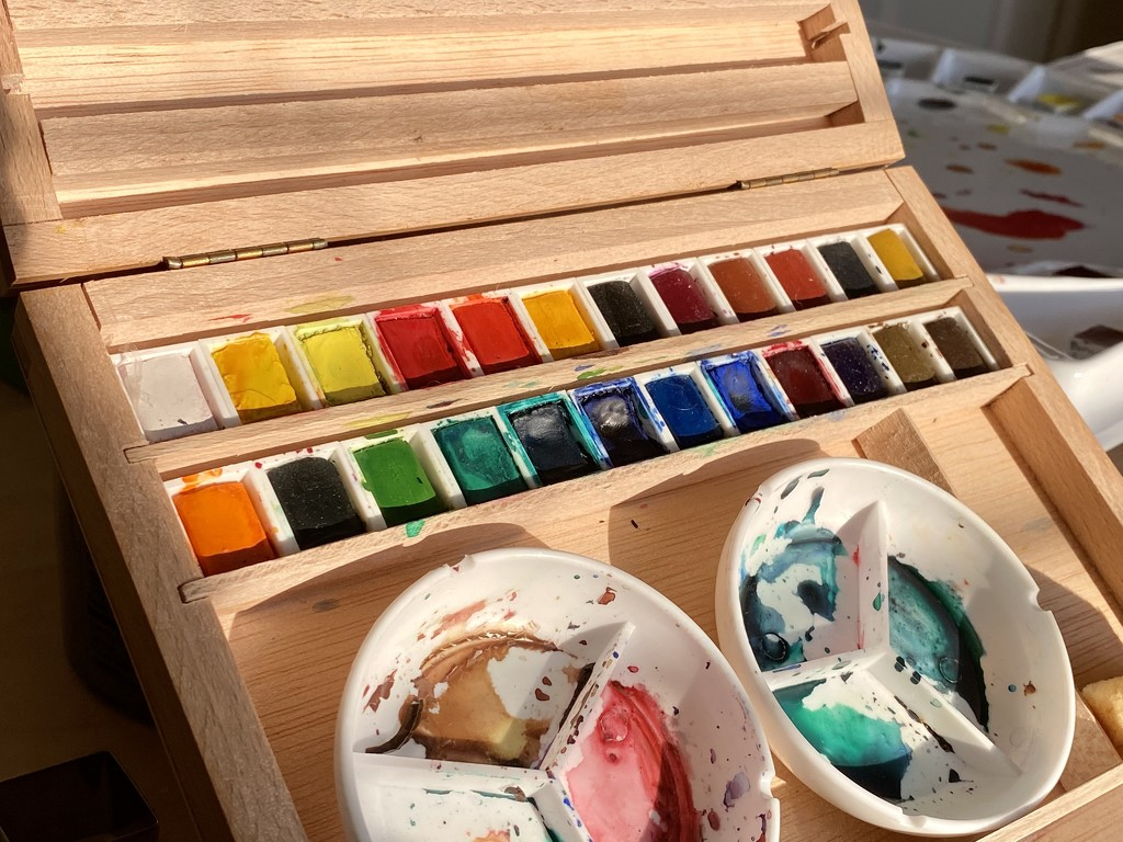 Watercolor set by clay88