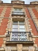 4th Apr 2021 - Balconies with hearts place des Vosges.