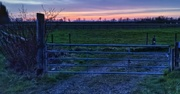 4th Apr 2021 - Sunset in the country